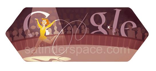 Rhythmic Gymnastics Google Doodle
