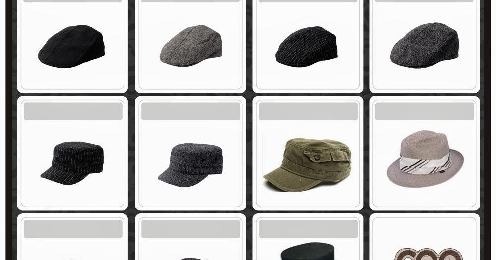 My Coffebreak   Jenis Topi dan Namanya