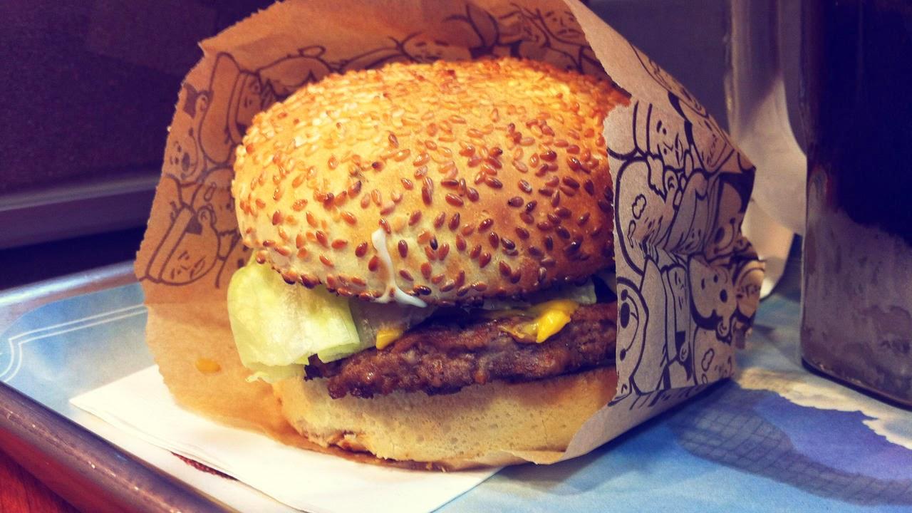 Calories in AW Canada Teen Burger Without Bun