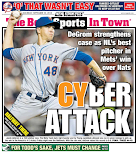 Mets last back page of the season?