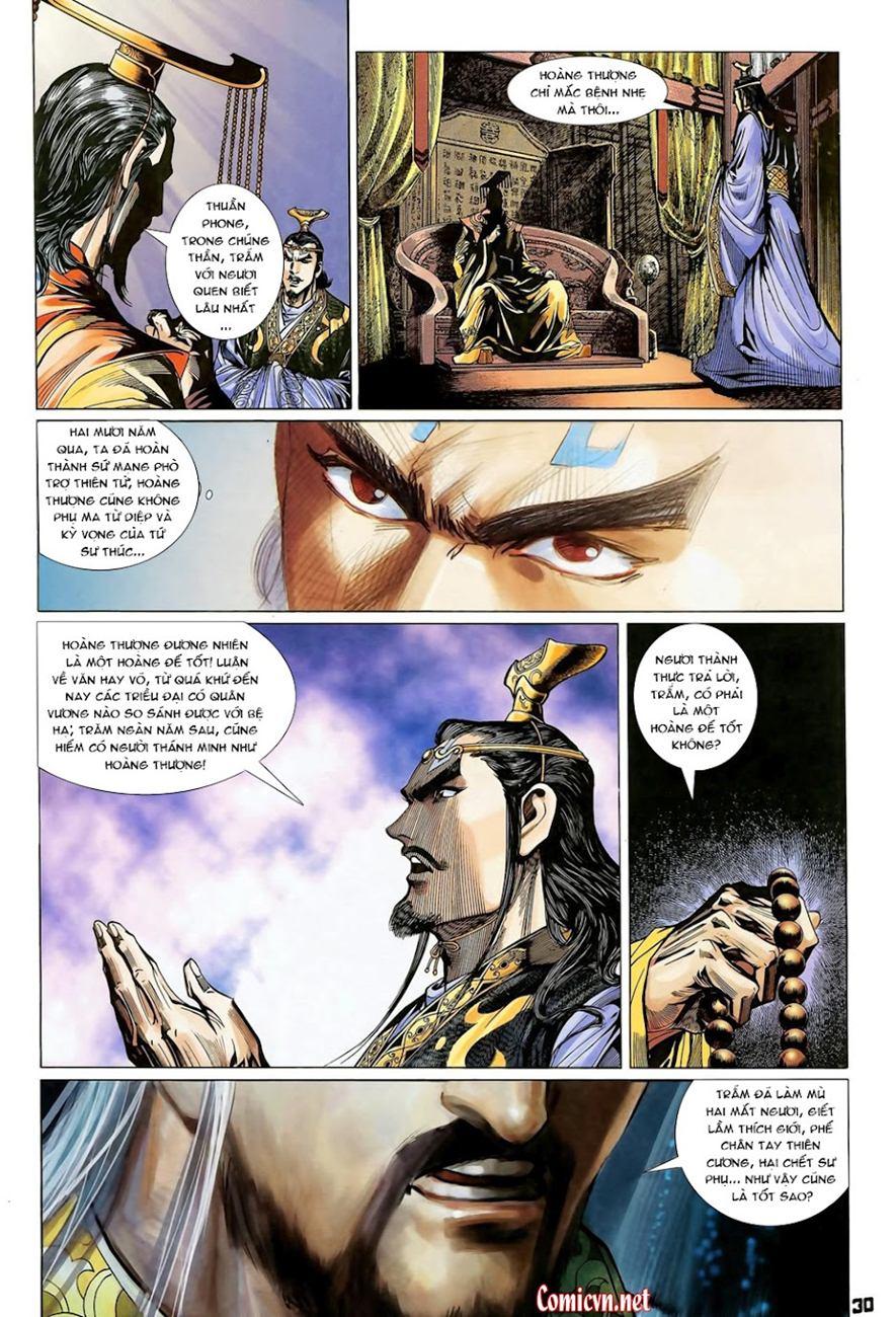 Thiên Tử Truyền Kỳ 4 – Đại Đường Uy Long chap 102 Trang 30