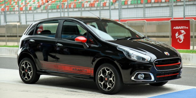 Fiat Abarth Punto to perform 0-100 in 8.8 seconds