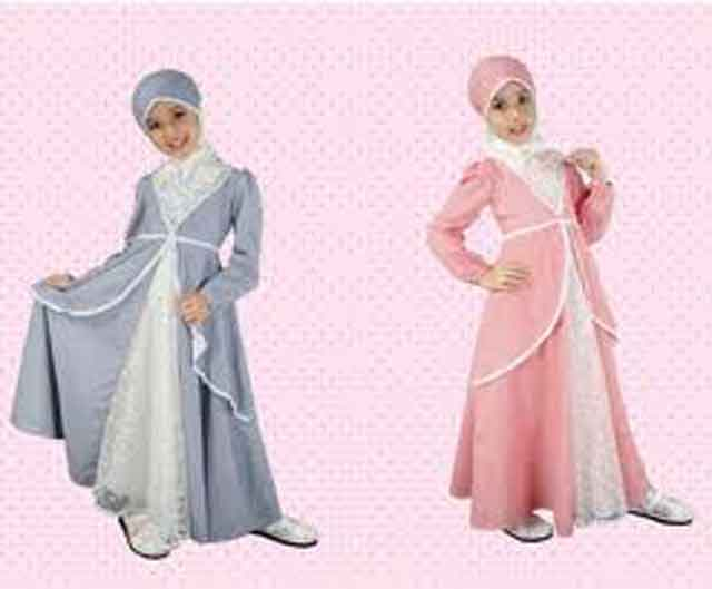 Model busana muslim terbaru, trend fashion baju kurung