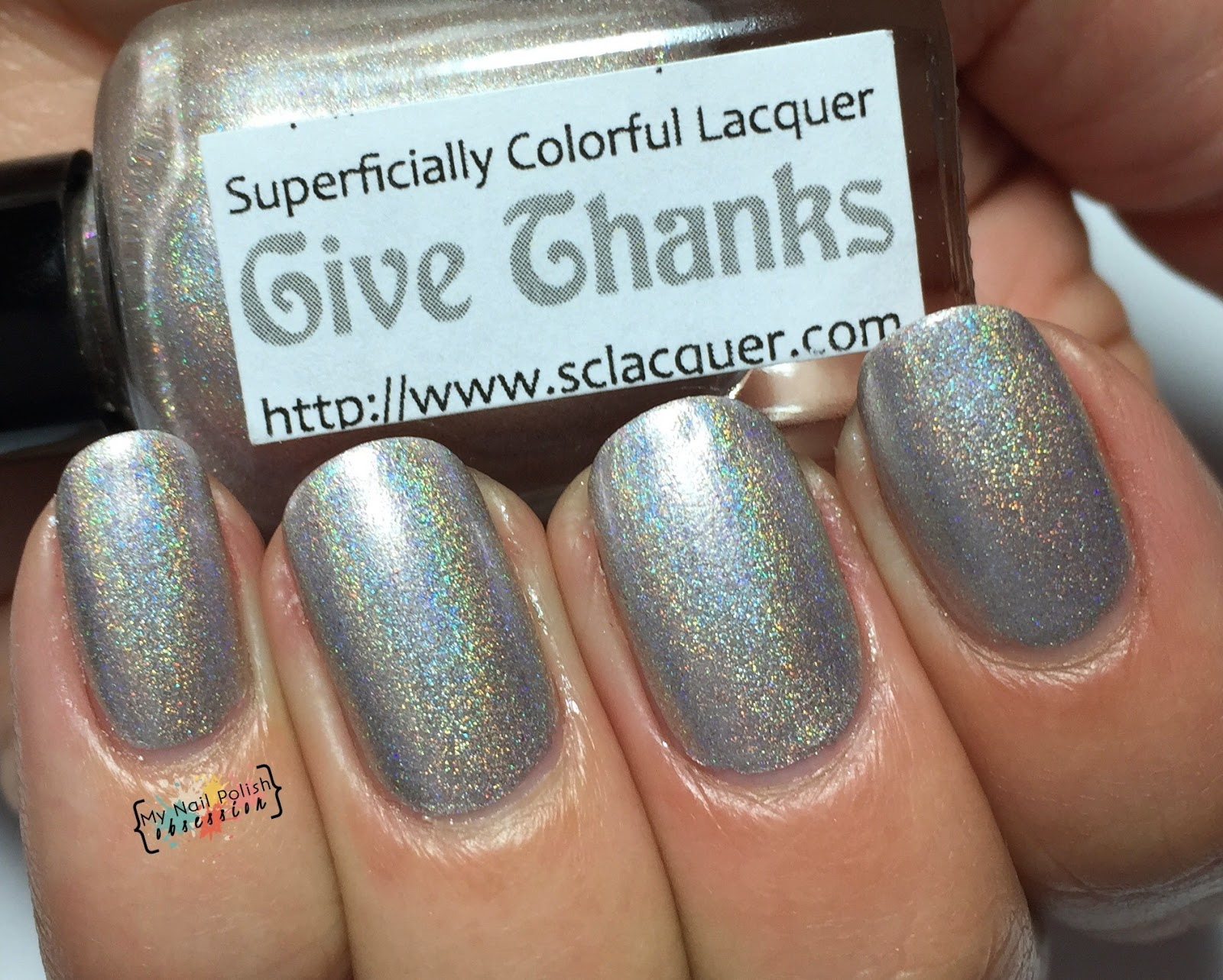 Superficially Colorful Lacquer Give Thanks