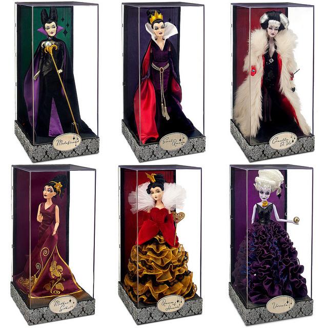 dollie mix disney villains designer collection