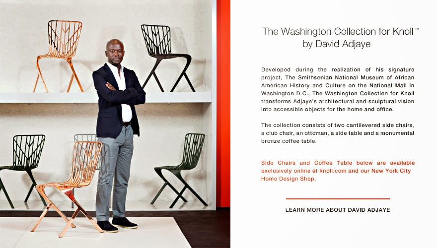 Ghana Rising Luxe Furniture David Adjaye 4 Knoll