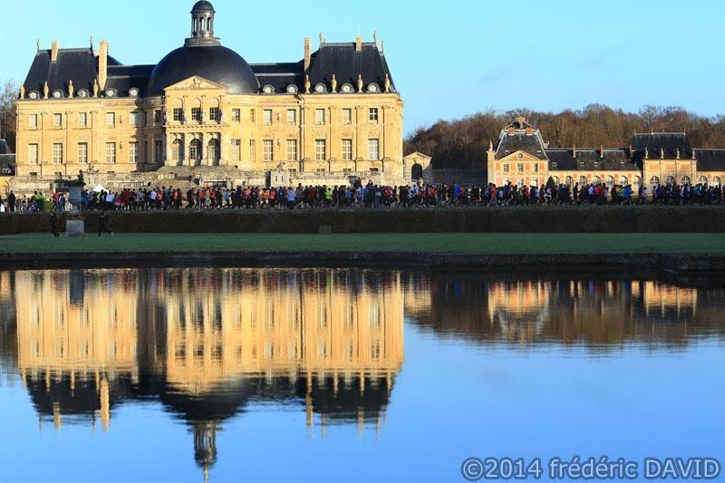 Château sport course à pied foulées Vaux-le-Vicomte Seine-et-Marne