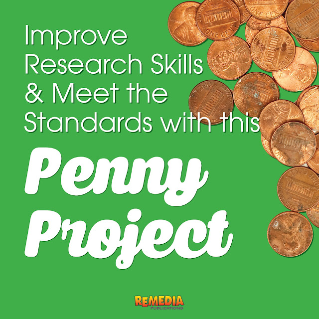 Improve Research Skills & Meet the Standards with this Penny Project | Remedia Publications