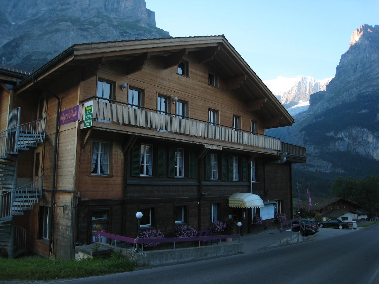 Auf Guten Wegen Andreas OutdoorBlog Via Alpina Grindelwald - Hotel alpina grindelwald