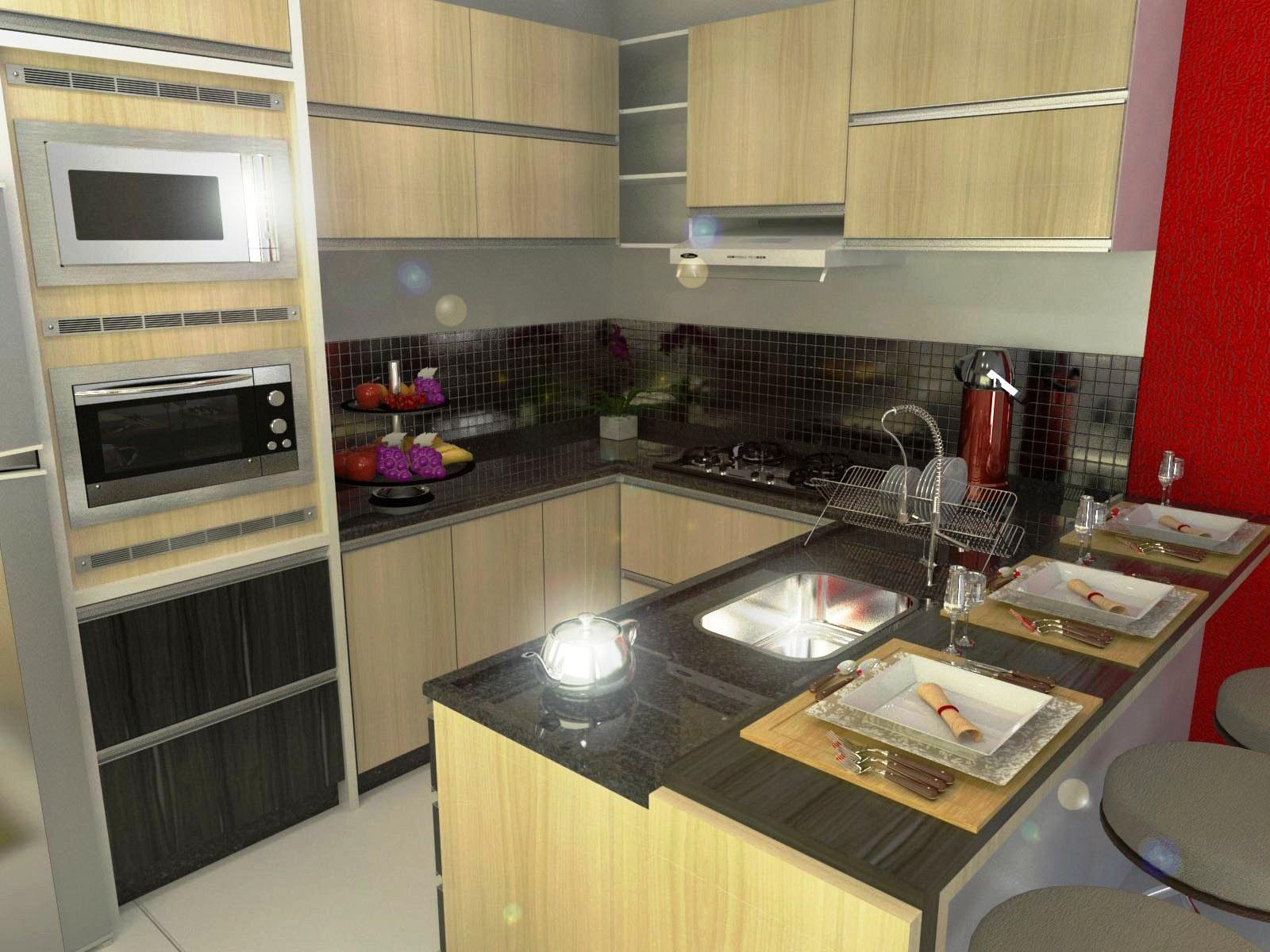 PROJETO DE MÓVEIS 3D: Cozinha Pequena #801B16 1600 1200