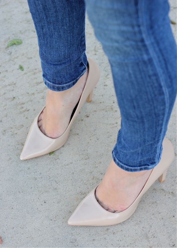 shoes, pumps, nude heel, Steve Madden