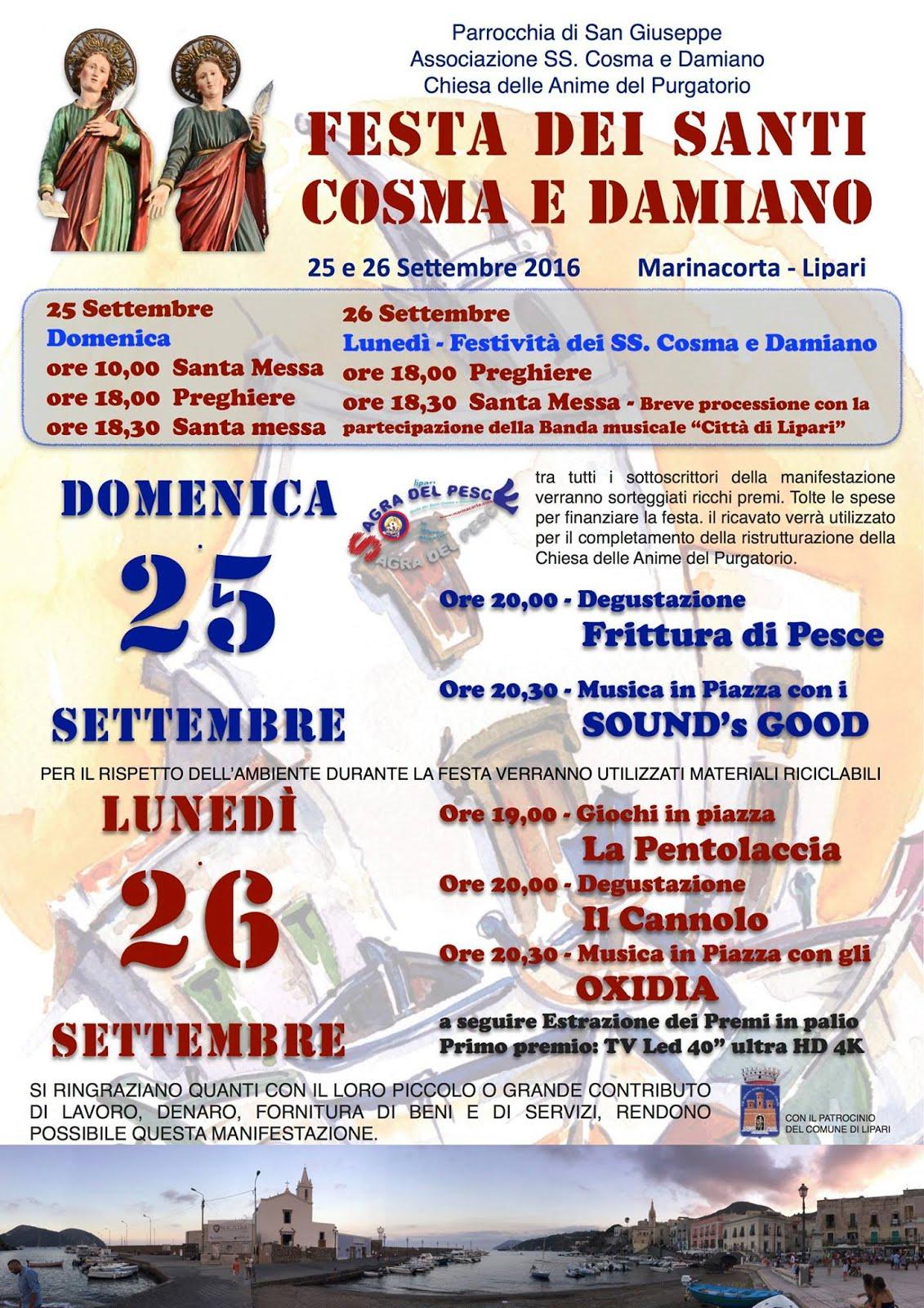 Festa dei Santi Cosma e Damiano