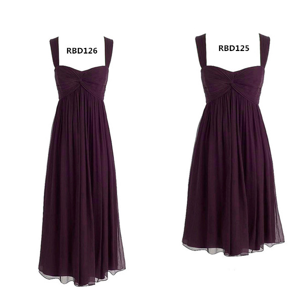 plum maternity bridesmaids dresses