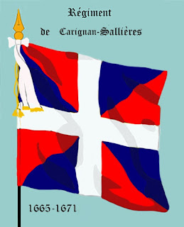 Carignan-Salieres Regiment Flag