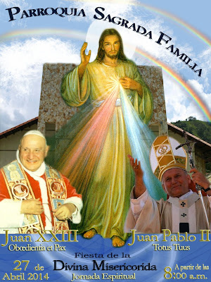 Solemnidad de la Divina Misericordia