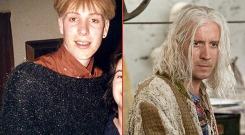 Rhys+Ifans+ +Xenof%C3%ADlio+Lovegood+Sai+Chul%C3%A9 Atores do Harry Potter quando eram mais jovens