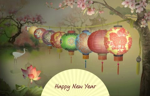 Happy Chinese Lunar New Year 2015