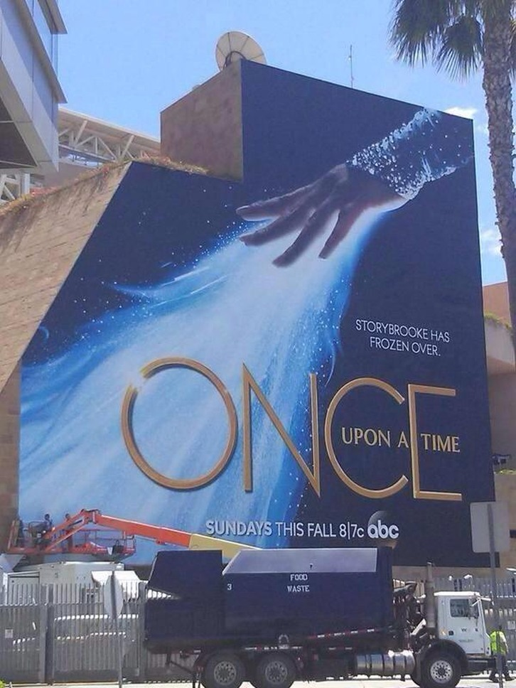 Once Upon a Time - Season 4 - Comic Con Poster
