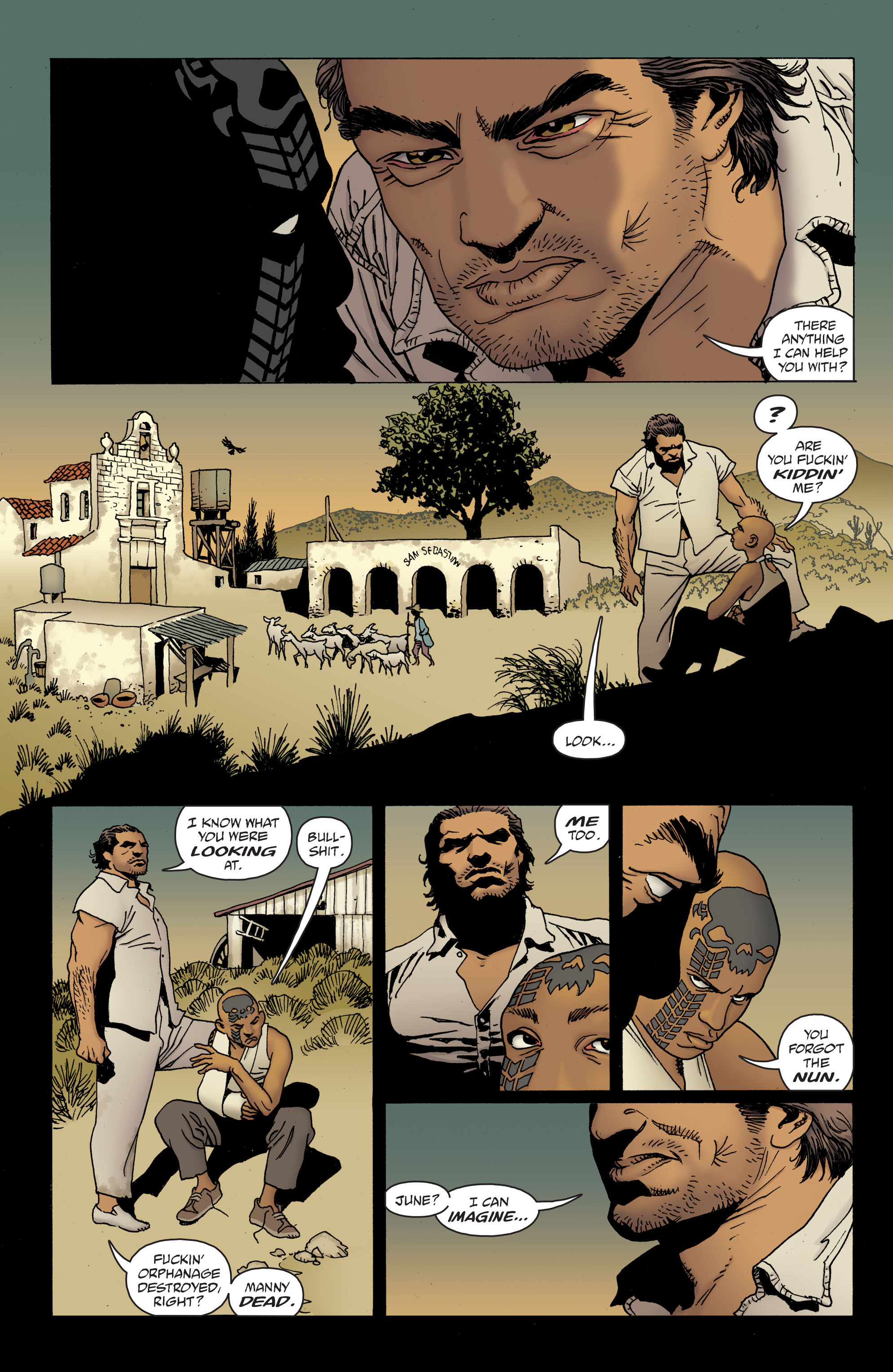 100 Bullets: Brother Lono Full Page 112
