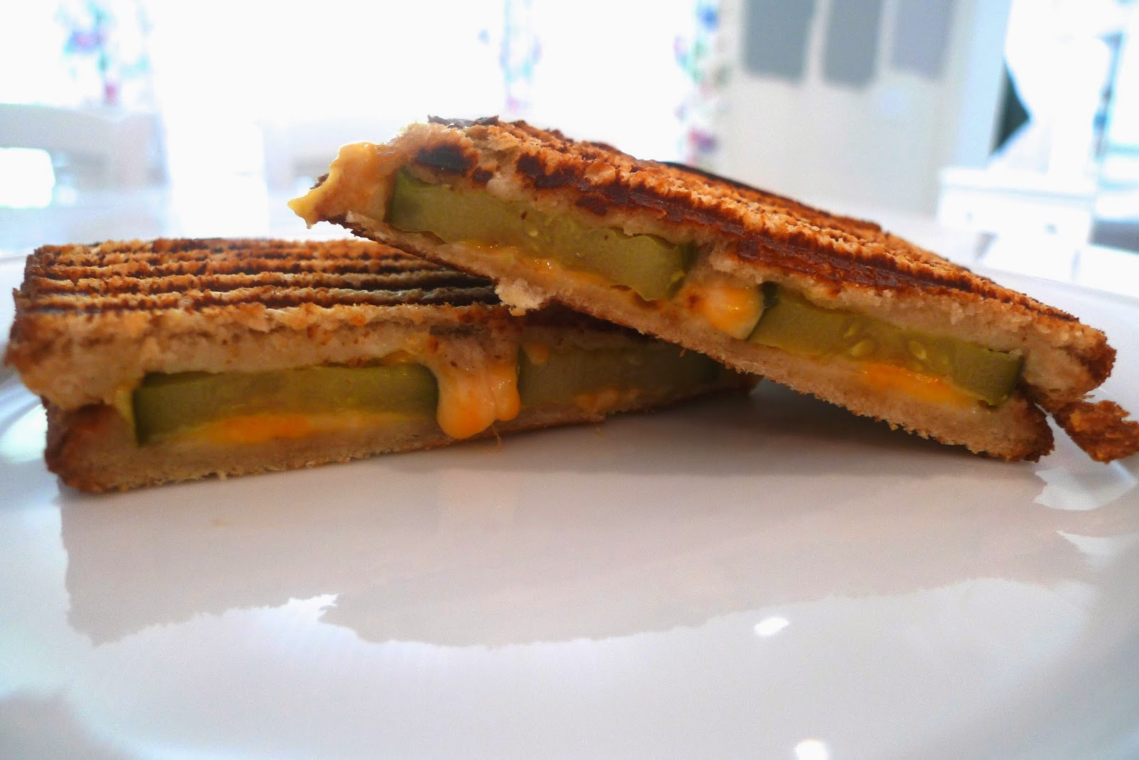 siriously delicious: Grilled Cheese and Pickle Panini