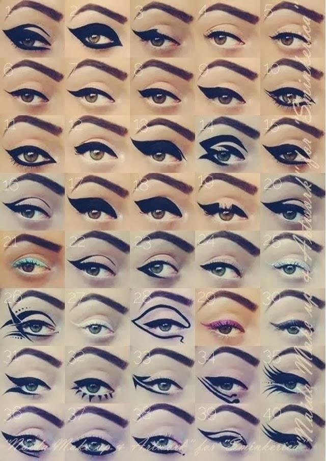 40 lignes d'eye liner