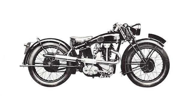 1932 VINCENT HRD MODEL P.S - vintage motorcycles - classic motorcycles - rare motorcycles