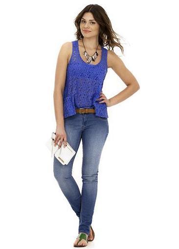 Calças Jeans Femininas Fotos Modelos
