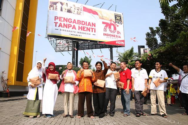 Meriahnya Perayaan HUT RI Ke-70 di DPP PKS