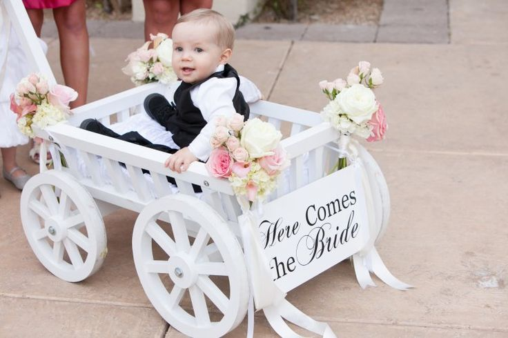 Lots Of Kids In Wedding Ring Bearers