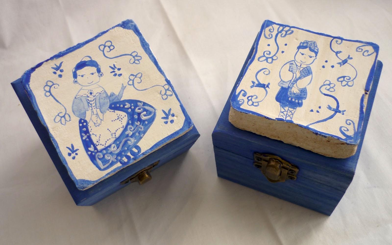 Articulos valencianos cajas de cenizas Ceramica artesanal valencia