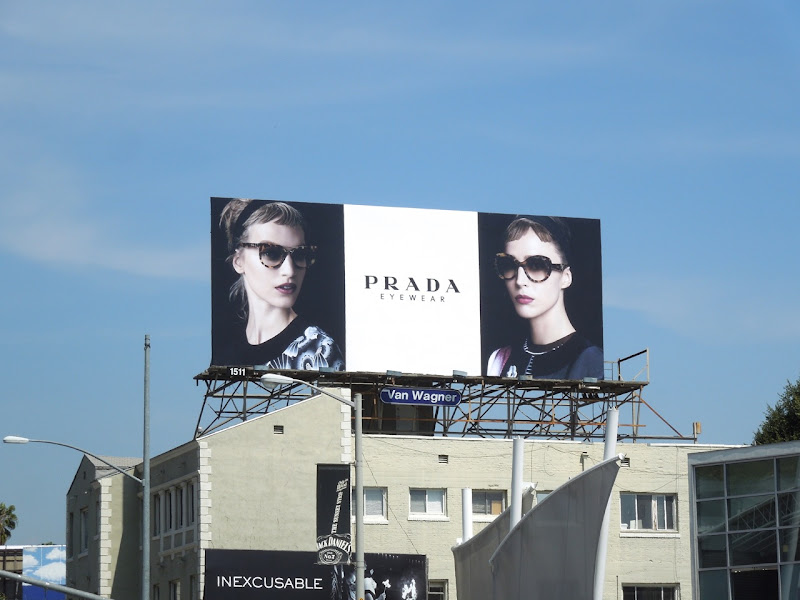 Prada eyewear 2013 billboard