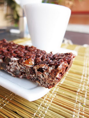 Barrette di riso soffiato e cioccolato - Rice chocolate bar