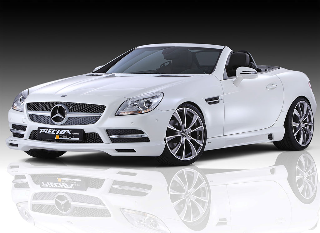 2012 mercedes slk tuning by piecha germany automotive news for 2012 mercedes benz slk