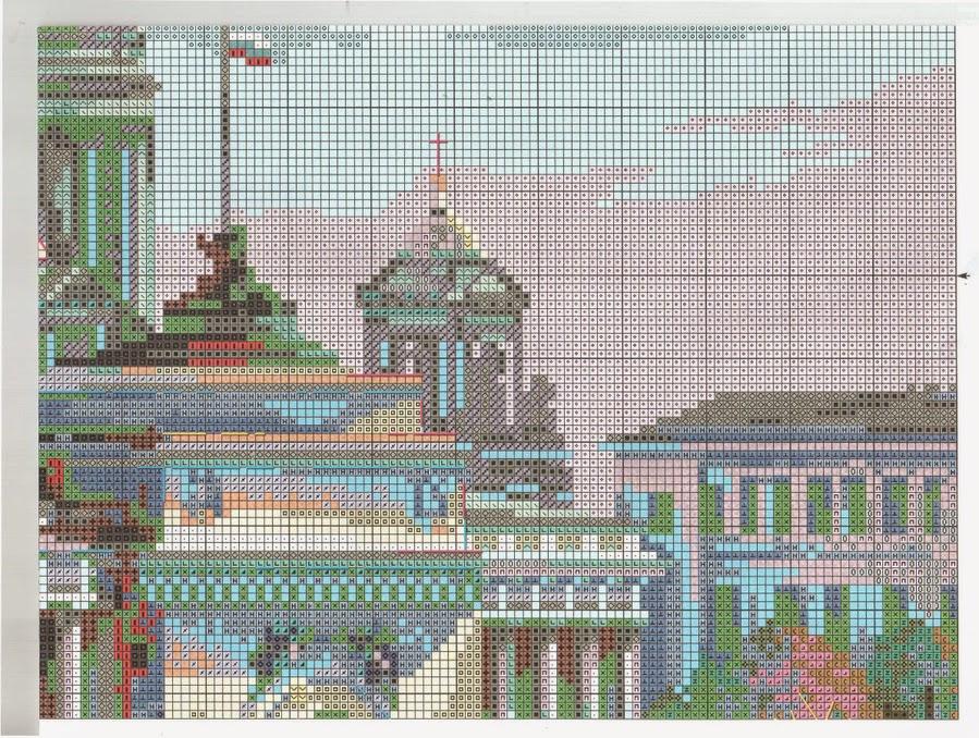 Санкт-петербург адмиралтейская набережная схема вышивки 27