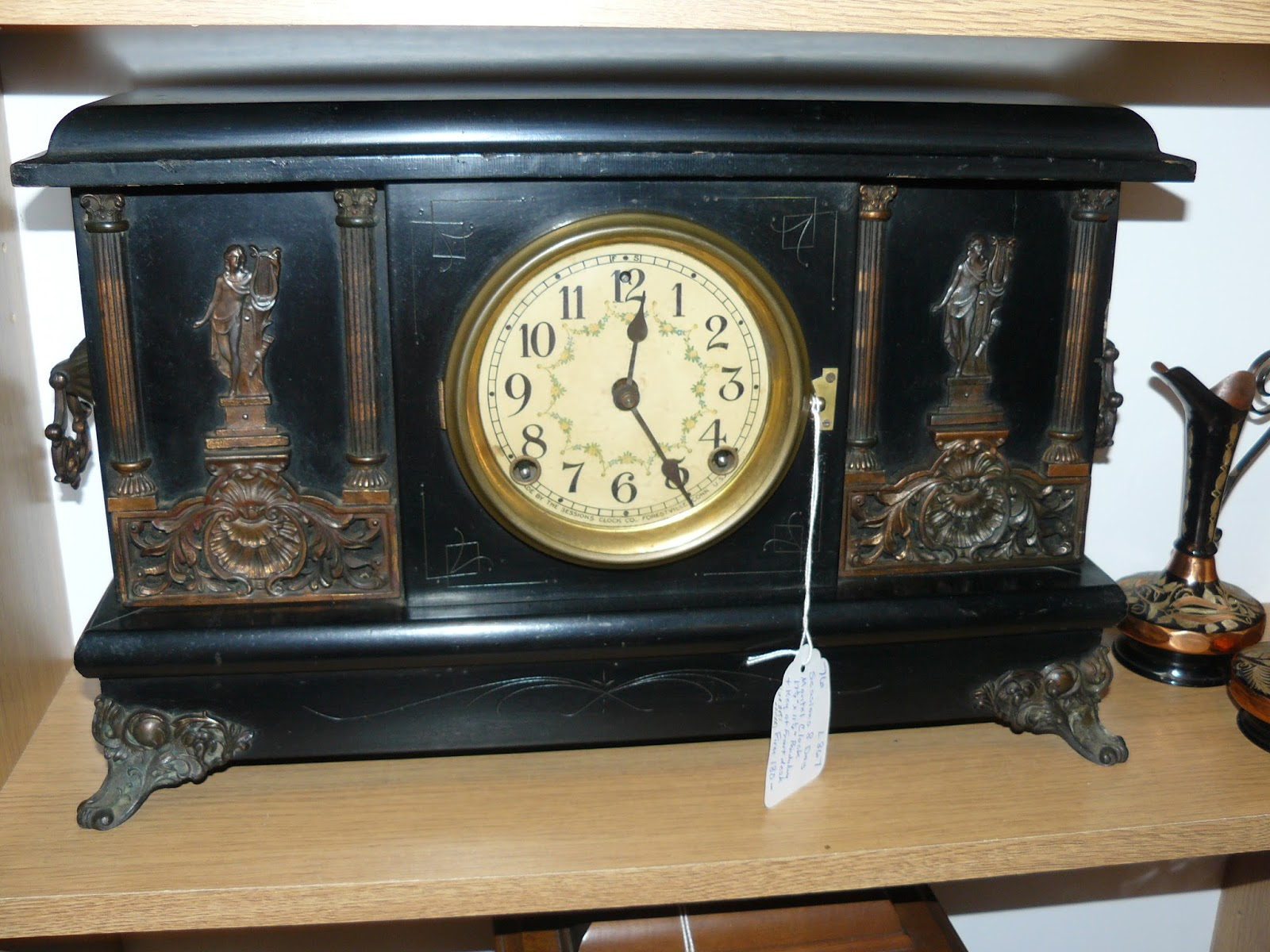 Antique mantel clocks sessions