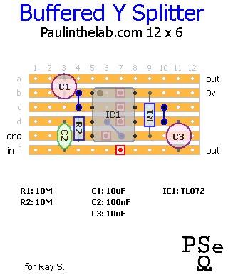 y splitter schematic – readingrat, Wiring schematic