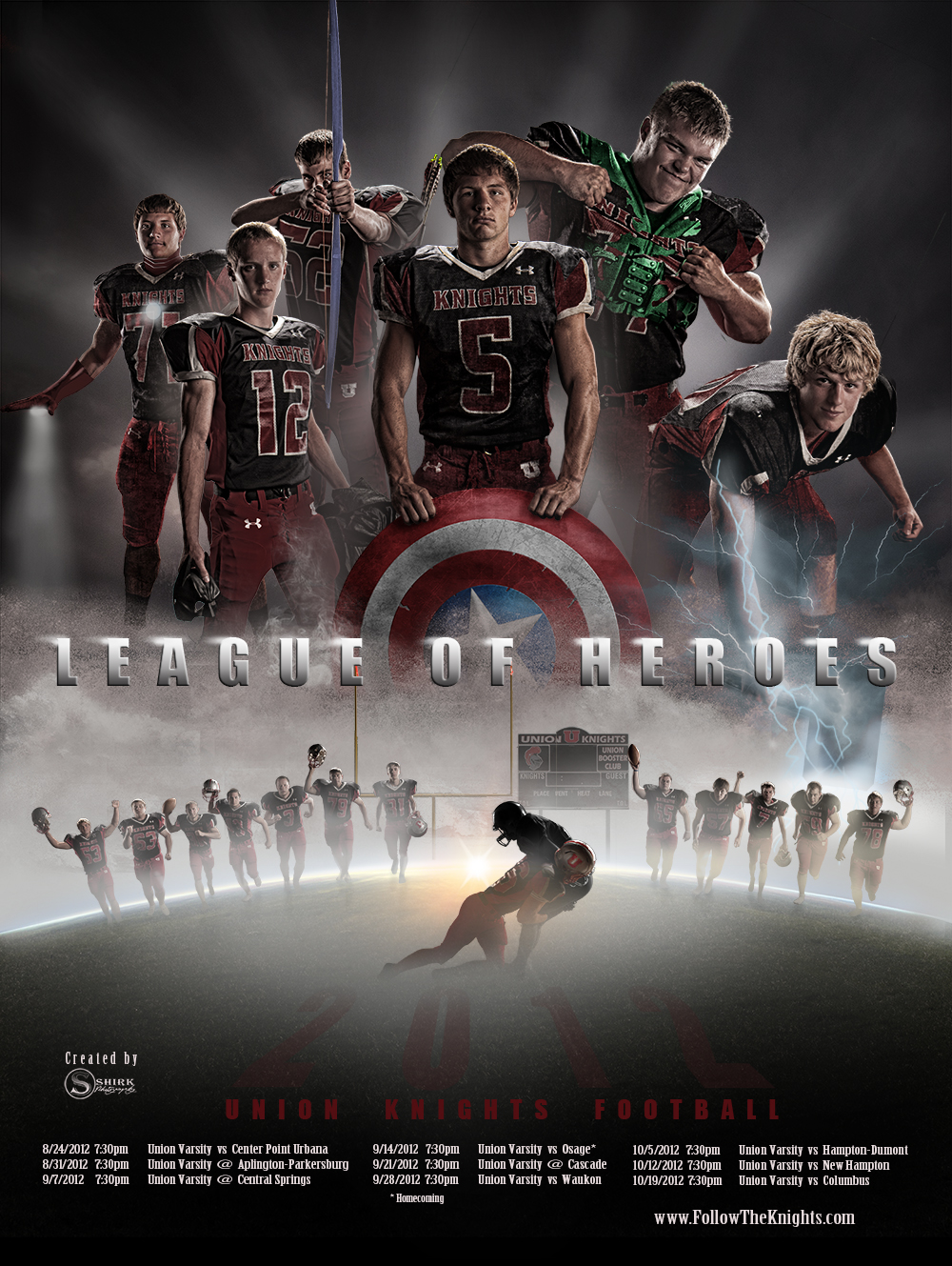 Shirk photography blog a few sweet new team posters for Team picture ideas