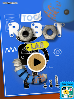 Toca Robot Lab iPhone / iPad App Review