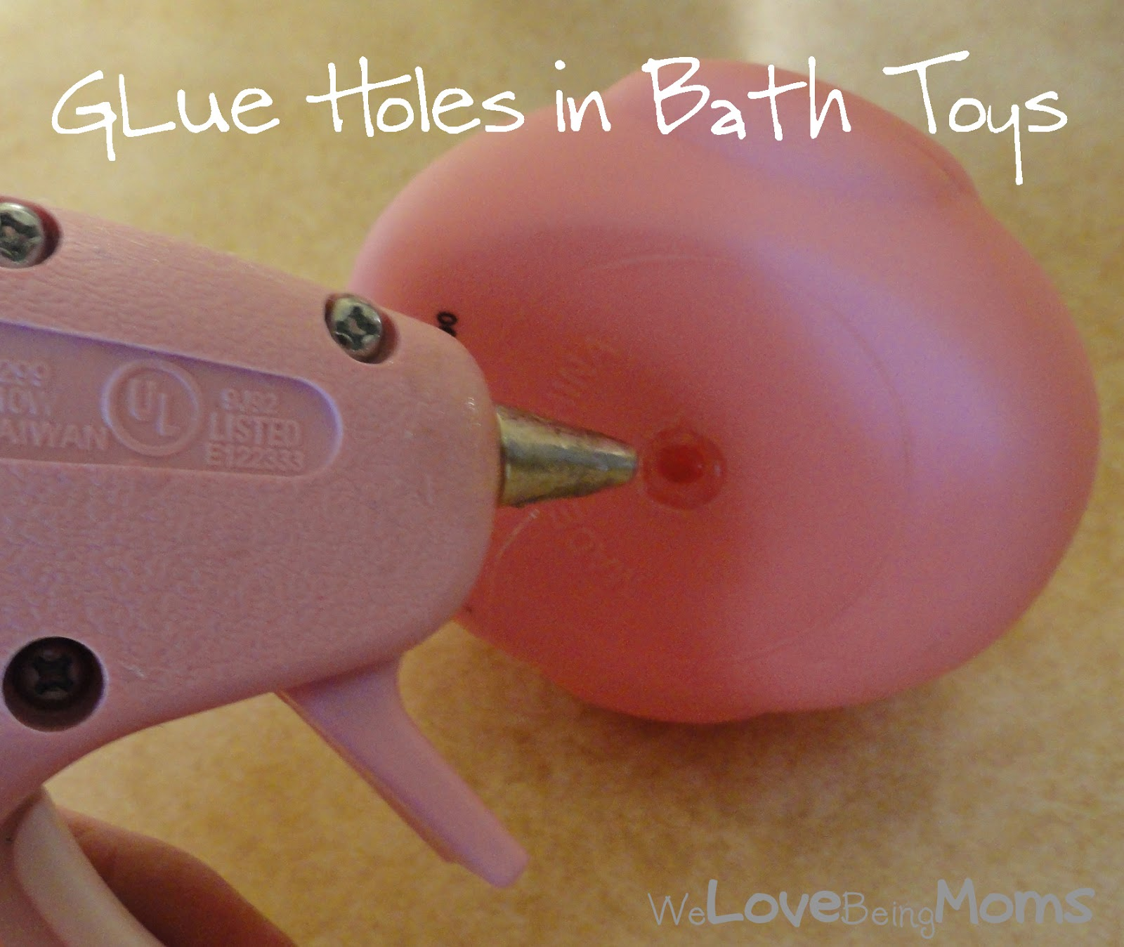 We Love Being Moms How & Why to Clean Bath Toys