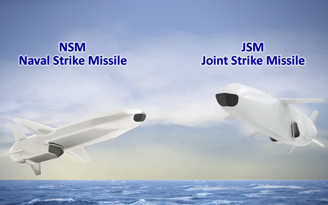 Vídeo: Mísseis Kongsberg NSM Naval Strike e JSM Joint Strike