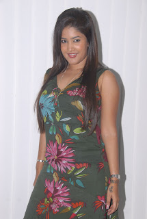 Sowmya spotted in a lovely Sleeveless Gown at Affinity Spa Launch