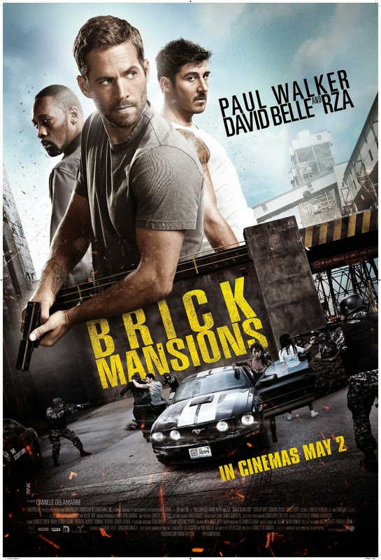 Brick Mansions (La fortaleza) (2014) [BR-SCREENER 720p][Castellano][Acción]