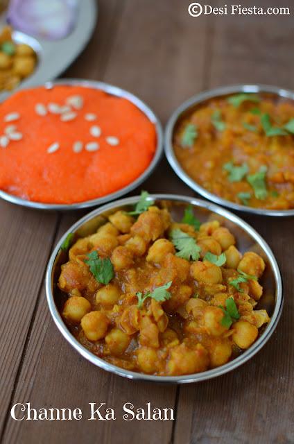 Channe Ka salan   Choley Recipe
