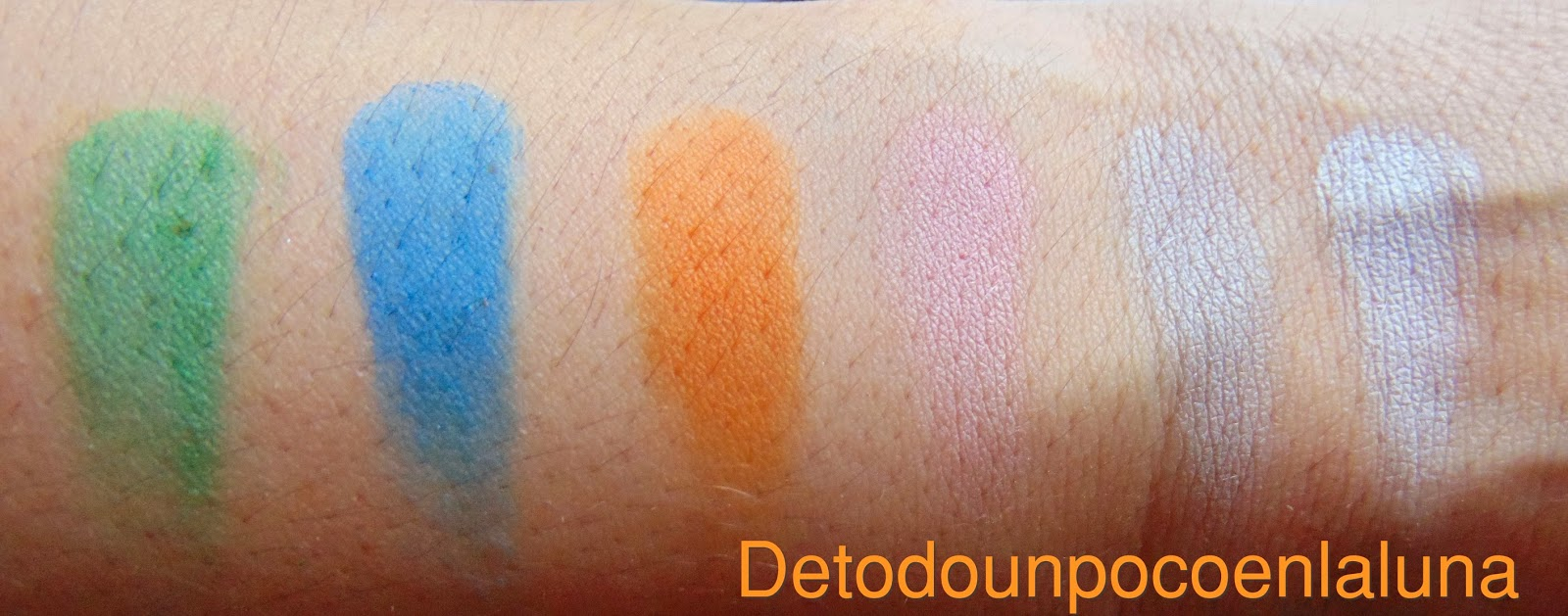 swatches Paleta Ultra Mattes V.1 Brights de sleekmakeup