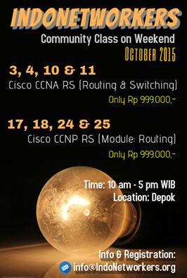 Ikuti Community Class Class Training CCNA & CCNP