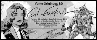 Vente dessins originaux BD