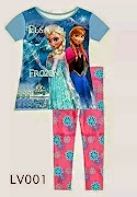 FROZEN PYJAMAS !!!