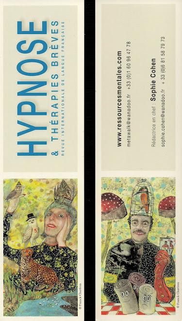 Marque page pour la revue Hypnose et thérapies brèves