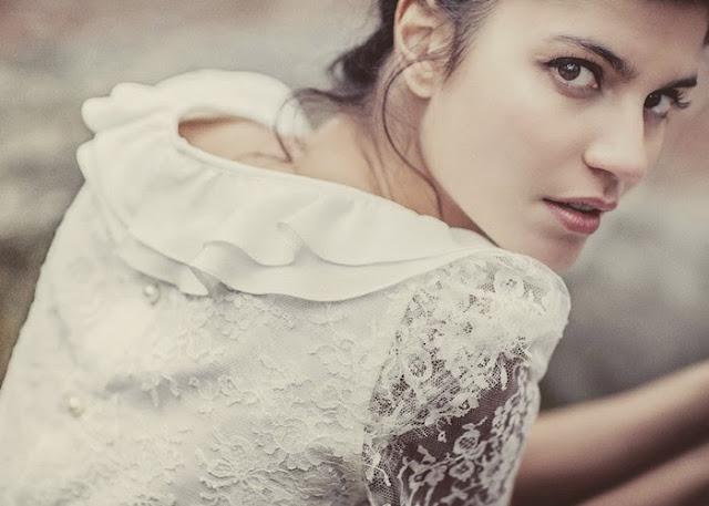 belle photo inspiration mariage vintage dentelle de Calais laure de sagazan