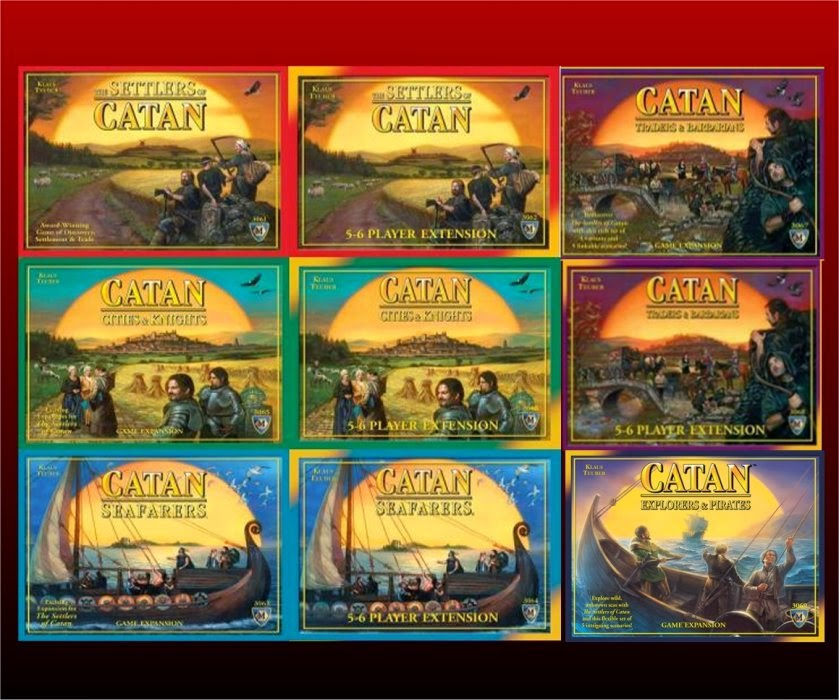 Board Games Settlers of Catan expansions